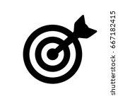 target icon | Shutterstock .eps vector #667182415