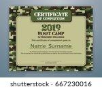 boot camp internship program... | Shutterstock .eps vector #667230016