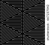 white diagonal and horizontal... | Shutterstock .eps vector #667237042