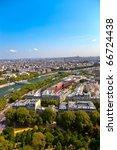 Aerial View Of Paris...