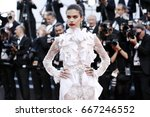 cannes  france   may 22  sara... | Shutterstock . vector #667246552