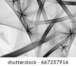 gray abstract fractal... | Shutterstock . vector #667257916