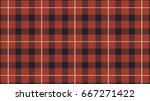 tartan plaid  pattern vector... | Shutterstock .eps vector #667271422