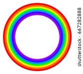 Seven Colors Rainbow Circle....