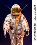 saint petersburg  russia   may... | Shutterstock . vector #667286005