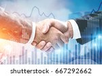 close up of two businessmen...   Shutterstock . vector #667292662