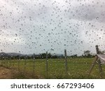condensation mirror out of... | Shutterstock . vector #667293406