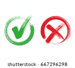 check mark   stock vector. | Shutterstock .eps vector #667296298