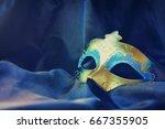 carnival mask | Shutterstock . vector #667355905