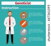 medical equipment instruction... | Shutterstock .eps vector #667361095