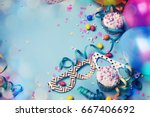 Happy Birthday Concept With...