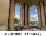 view through main basin... | Shutterstock . vector #667436812