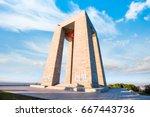 canakkale martyrs' memorial...   Shutterstock . vector #667443736