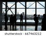 paris's silhouette | Shutterstock . vector #667463212