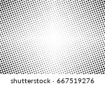 abstract halftone dotted... | Shutterstock .eps vector #667519276