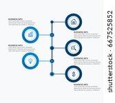 business target marketing dart... | Shutterstock .eps vector #667525852