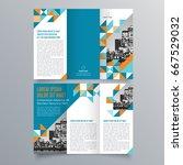 brochure design  brochure... | Shutterstock .eps vector #667529032