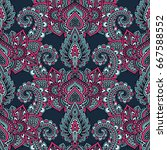 vector seamless pattern with...   Shutterstock .eps vector #667588552