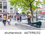montreal  canada   may 27  2017 ... | Shutterstock . vector #667598152