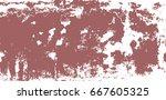vector vertical grunge texture. ... | Shutterstock .eps vector #667605325