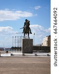 Small photo of Alexander the Great monument in Greece