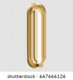 brilliant letter alphabet i... | Shutterstock . vector #667666126