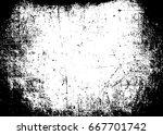 scratched texture template ... | Shutterstock . vector #667701742