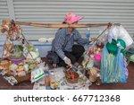 bangkok  thailand  29.may  2017 ... | Shutterstock . vector #667712368