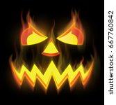 Pumpkin Devil  Fire From Hell ...