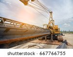 drilling machine at... | Shutterstock . vector #667766755