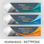 abstract web banner design... | Shutterstock .eps vector #667799266
