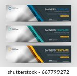 abstract web banner design... | Shutterstock .eps vector #667799272