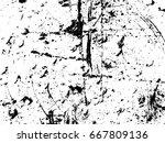 scratches. vector scratched... | Shutterstock .eps vector #667809136