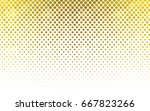 dark yellow vector pattern with ... | Shutterstock .eps vector #667823266