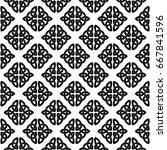 celtic national seamless... | Shutterstock .eps vector #667841596