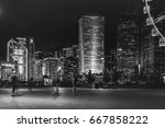 june 20  2017   central  hong... | Shutterstock . vector #667858222