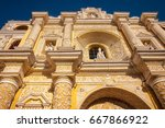 architectural detail of most... | Shutterstock . vector #667866922