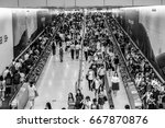 june 23  2017   central  hong... | Shutterstock . vector #667870876