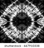 abstract tie dyed black   white ... | Shutterstock . vector #667910338