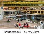 paris  france   april 8  2017 ... | Shutterstock . vector #667922596
