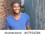 man with a perfect white smile...   Shutterstock . vector #667926286