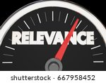 relevance importance relevant... | Shutterstock . vector #667958452