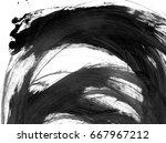 hight resolution. abstract oil... | Shutterstock . vector #667967212