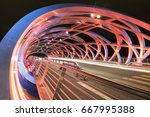 curves and lighting on the...   Shutterstock . vector #667995388