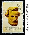 australia   circa 1983  stamp... | Shutterstock . vector #66802216