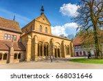 monastery maulbronn   Shutterstock . vector #668031646