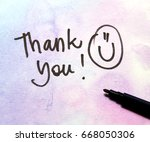 thank you message | Shutterstock . vector #668050306