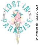 illustration parrot graphic for ...   Shutterstock .eps vector #668107225