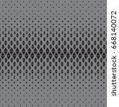 pattern geometry triangle... | Shutterstock .eps vector #668140072
