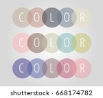 simple color logo for companys... | Shutterstock .eps vector #668174782